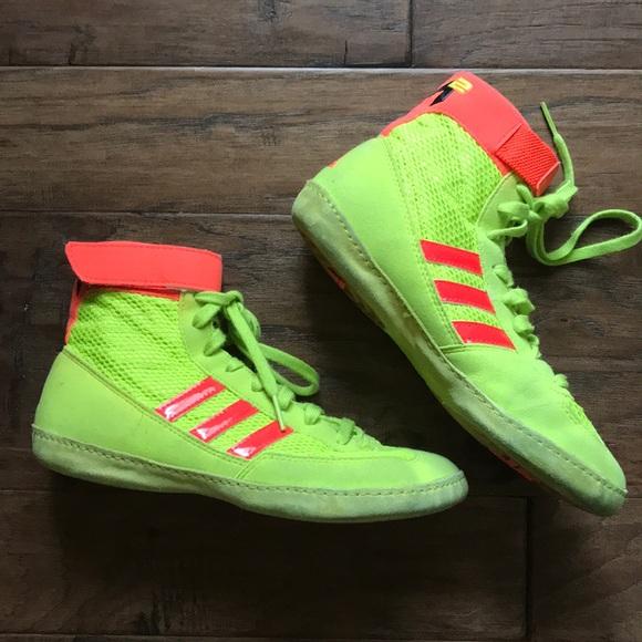 Used Adidas wrestling shoes bundle